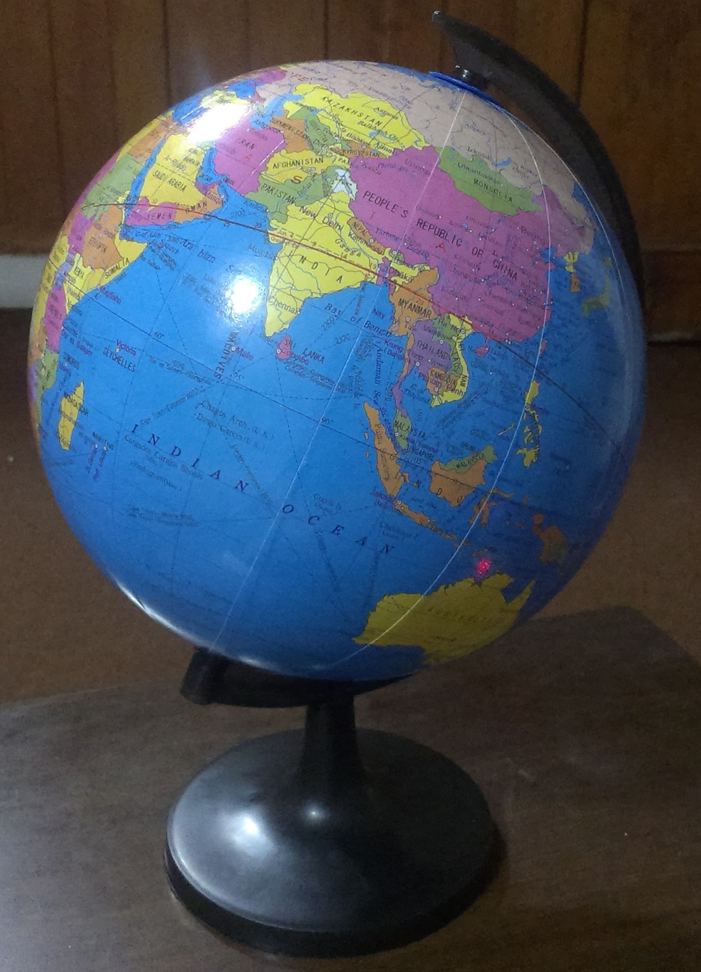 Image result for wiki commons picture of the globe of the world